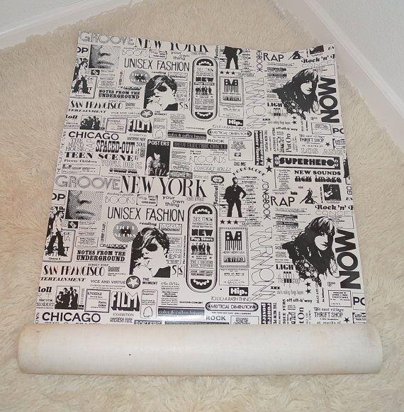 80s 60s pop art advertising print vinyl by modvibevintage on etsy