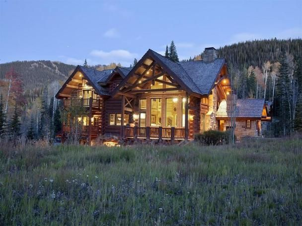 Telluride Log Cabin Home.