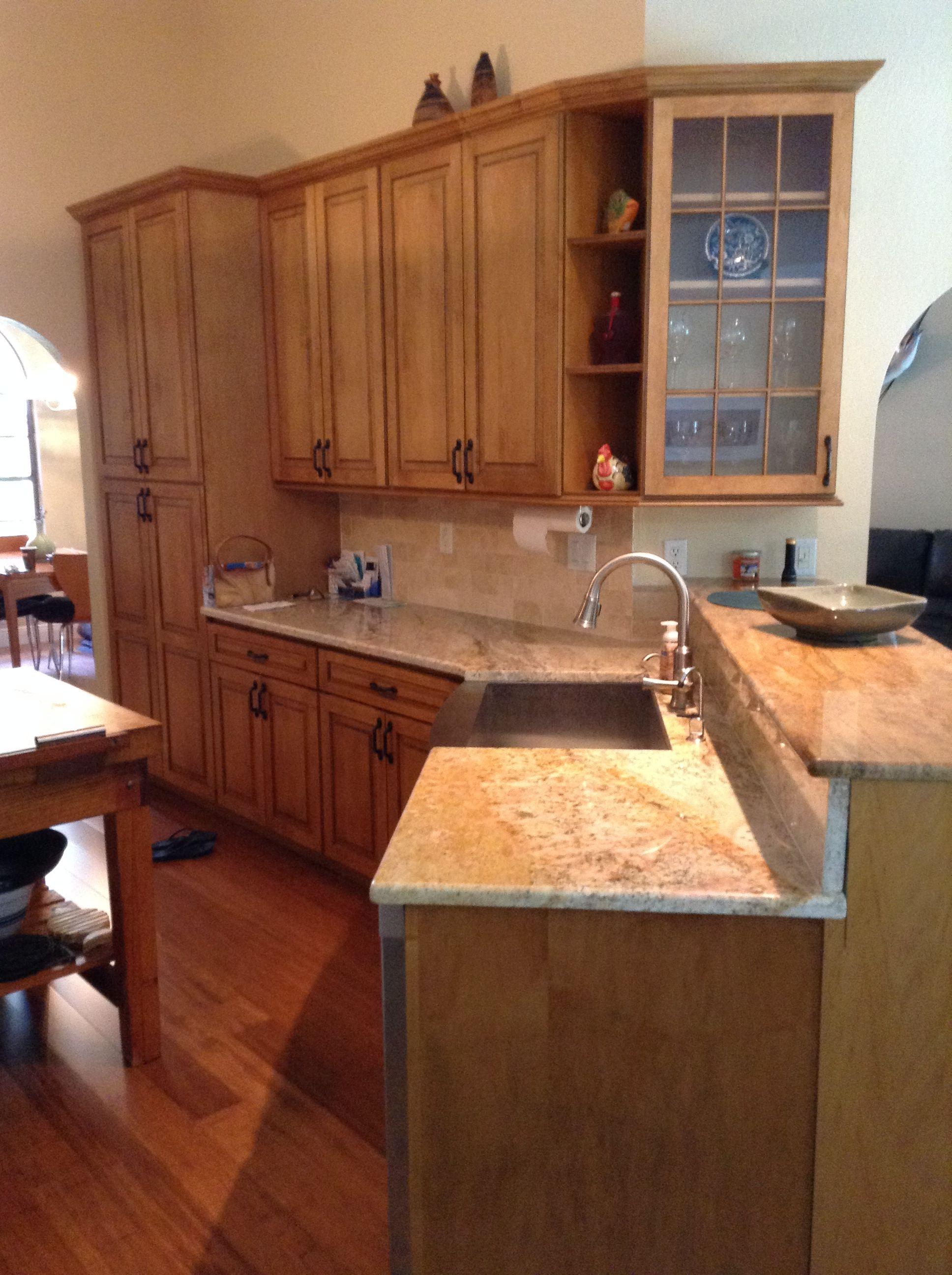 Coastal Kitchen Interiors Cki Naples Fl Modernized By Starmark And Coastal Kitchen Interiors Coastal Kitchen Brown Kitchen Cabinets Brown Cabinets