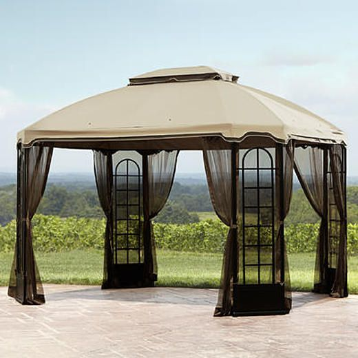 Essential Garden Terrace Gazebo 12ft X 10ft Garden