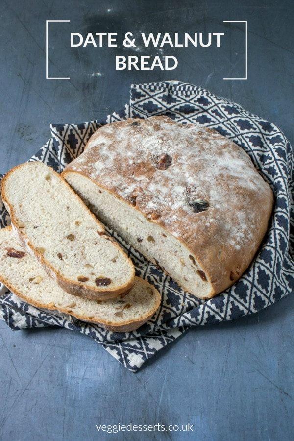 Rustic Date and Walnut Loaf | Recipe | Walnut bread recipe ...