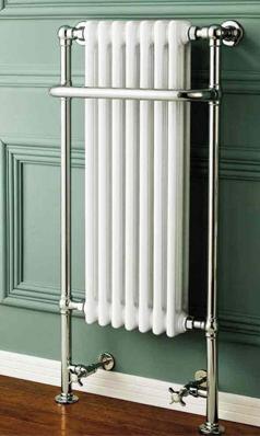 Butler Rose Homage Bathroom Traditional Heated Towel Rail Radiator 553 X 1130mm Traditional Bathroom Heated Towel Rail Radiators