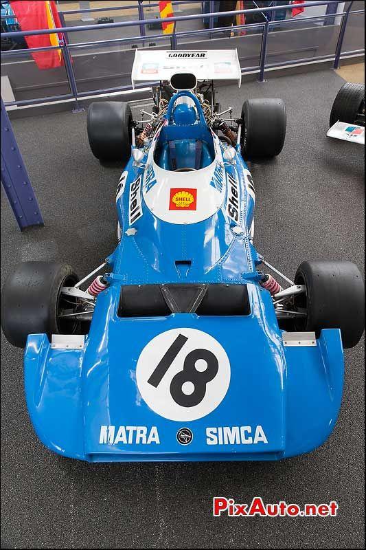 Musee Matra Romorantin, MS120D #7 Formule 1 1972