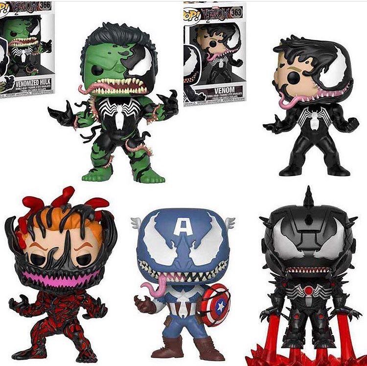 Funkos Of Venom Fp Pinterest Venom Movie Tmnt Comics And