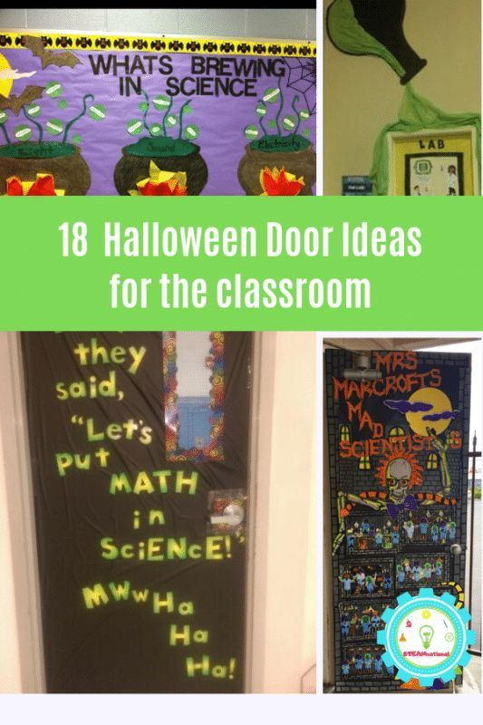 Adorable Halloween Classroom Doors with a Science Twist - #adorable #classroom #doors #halloween #science - #adorable #classroom #doors #halloween #science #twist - #new #scienceexperimentsforpreschoolers