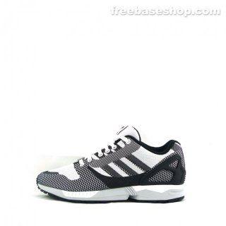 Adidas Zx Flux Weave White Black 99 90 Adidas Zx Adidas Zx Flux Zx Flux
