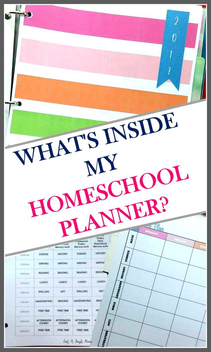 It\'s homeschool planning time! I love all things about this time of ...