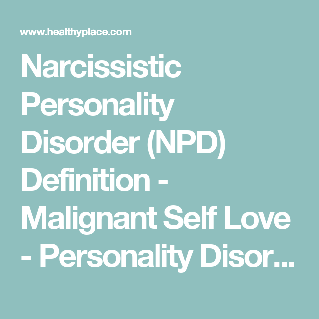 Narcissistic Personality Disorder (NPD) Definition | Bullying, DV