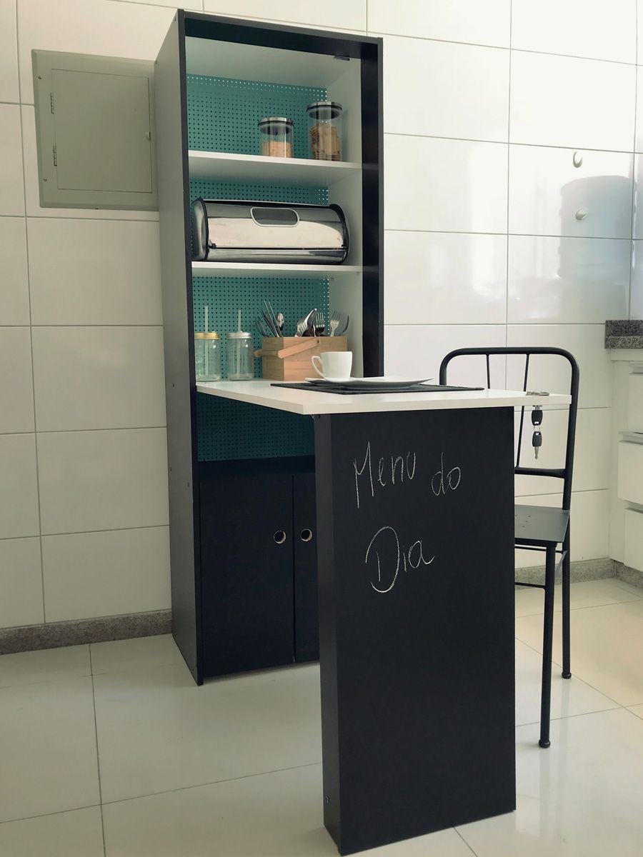 Como Customizar M Vel Para Cozinha Pequena Arm Rio Multiuso