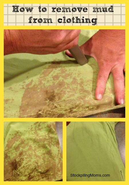 How To Remove Mud From Clothing Cleaning Hacks Cleaning Painted Walls Deep Cleaning Tips