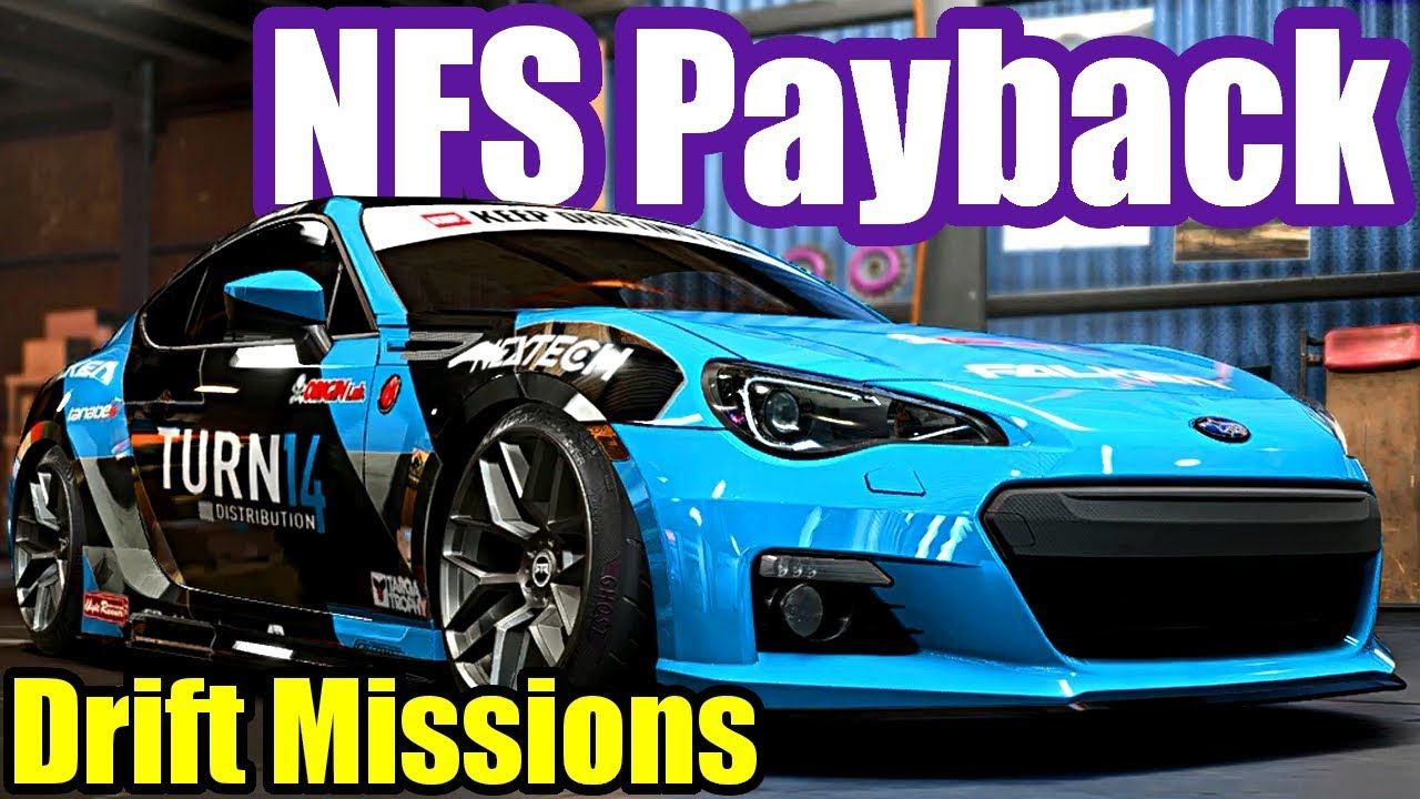 Need For Speed Payback 23 Drift Missions In Subaru Brz Mazda Mx