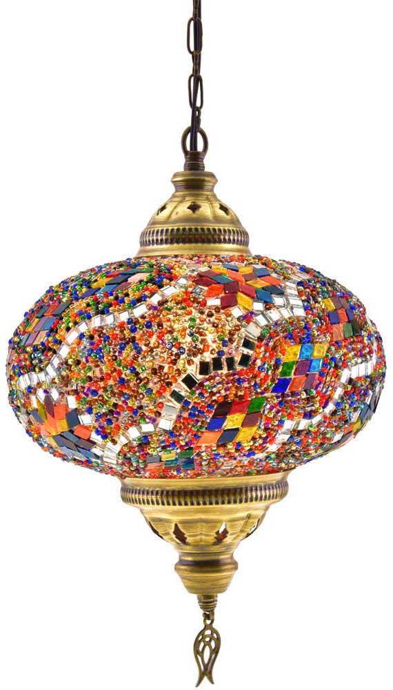 10 Xl Turkish Moroccan Handmade Mosaic Hanging Ceiling