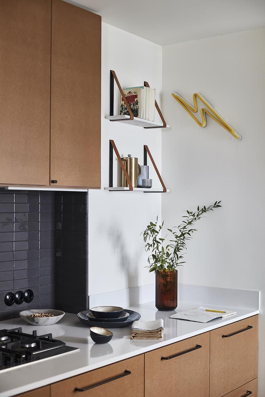 Our Raw Mdf Fronts On Ikea Metod Kitchen Designed By Mana For Living Kitchen Design Small Kitchen Carcasses Kitchen Interior