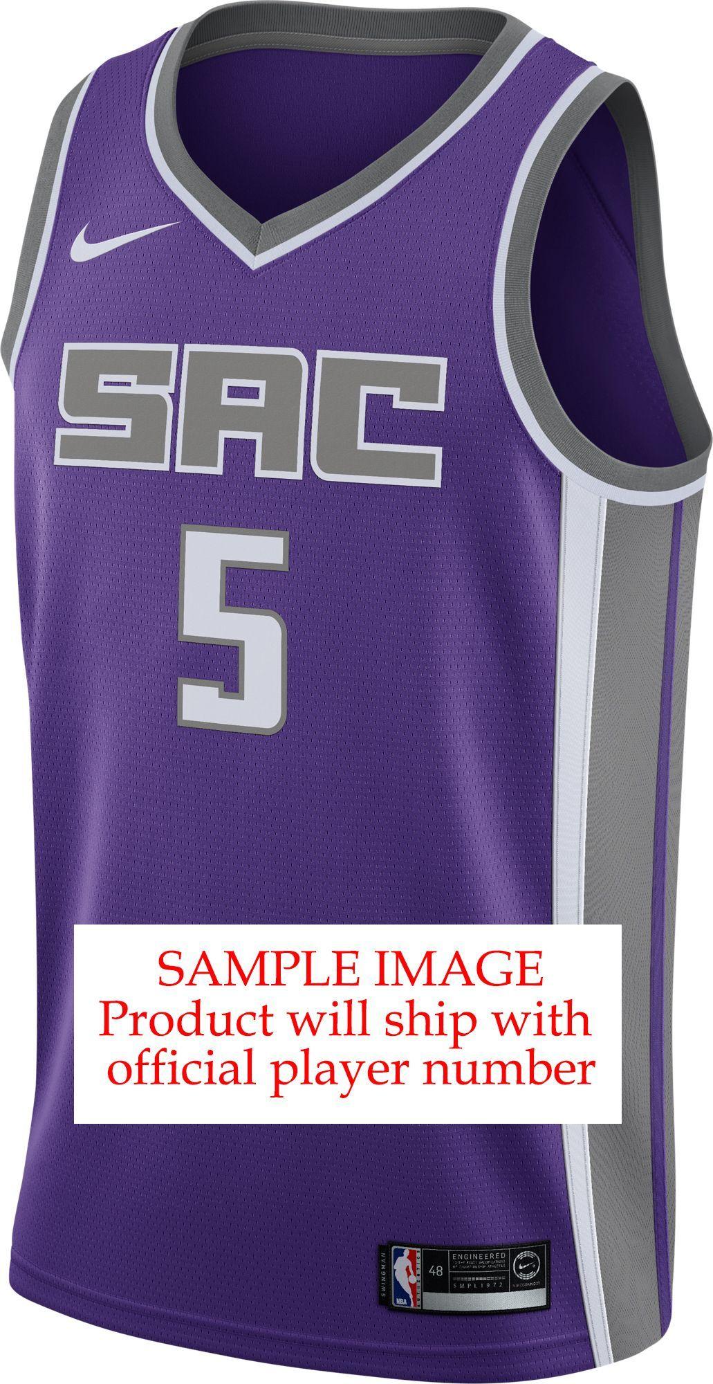 fd5daa5666b0 Nike Men s Sacramento Kings Marvin Bagley III  35 Purple Dri-FIT Swingman  Jersey