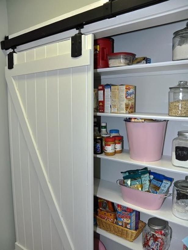 Design Ideas For Kitchen Pantry Doors Home Improvement Diy Network Kitchen Pantry Doors Barn Door Pantry Pantry Door