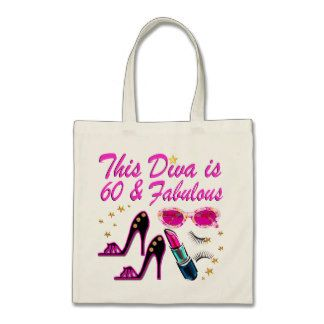 60 Year Old Git 60th Birthday Present Shopping Tote Bag Ladies Gift