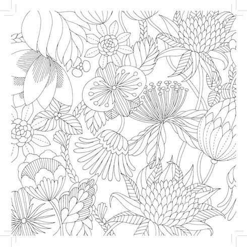 This Coloring Book For Adults Will Make You Feel Young Again