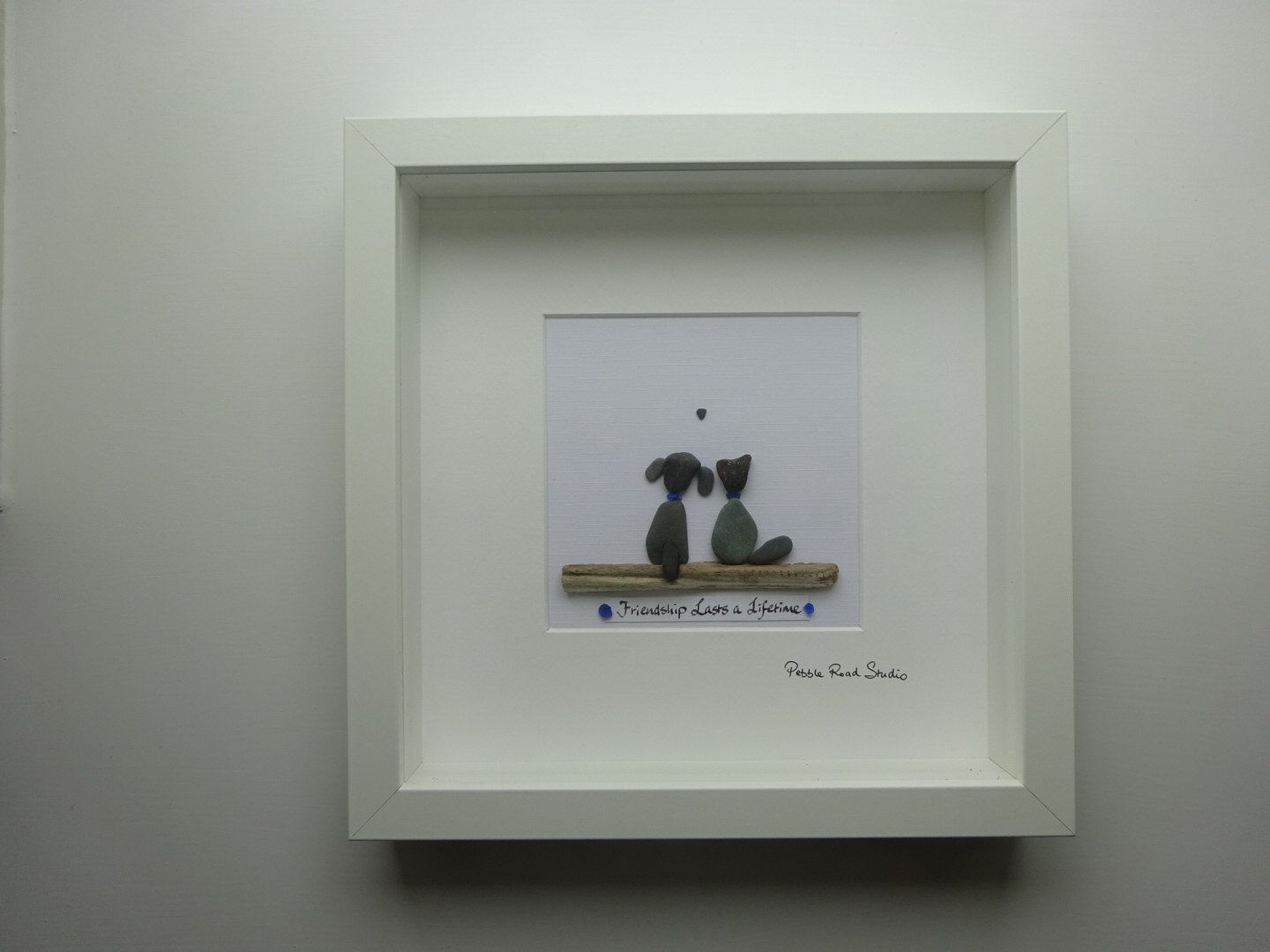 A personal favourite from my Etsy shop | Pebble Art | Pinterest