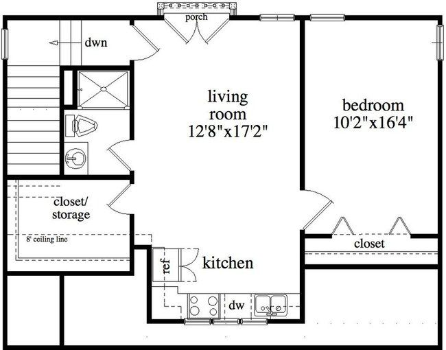 attached garage floor plan Car Garage with Apt Garage Plans - #ALP