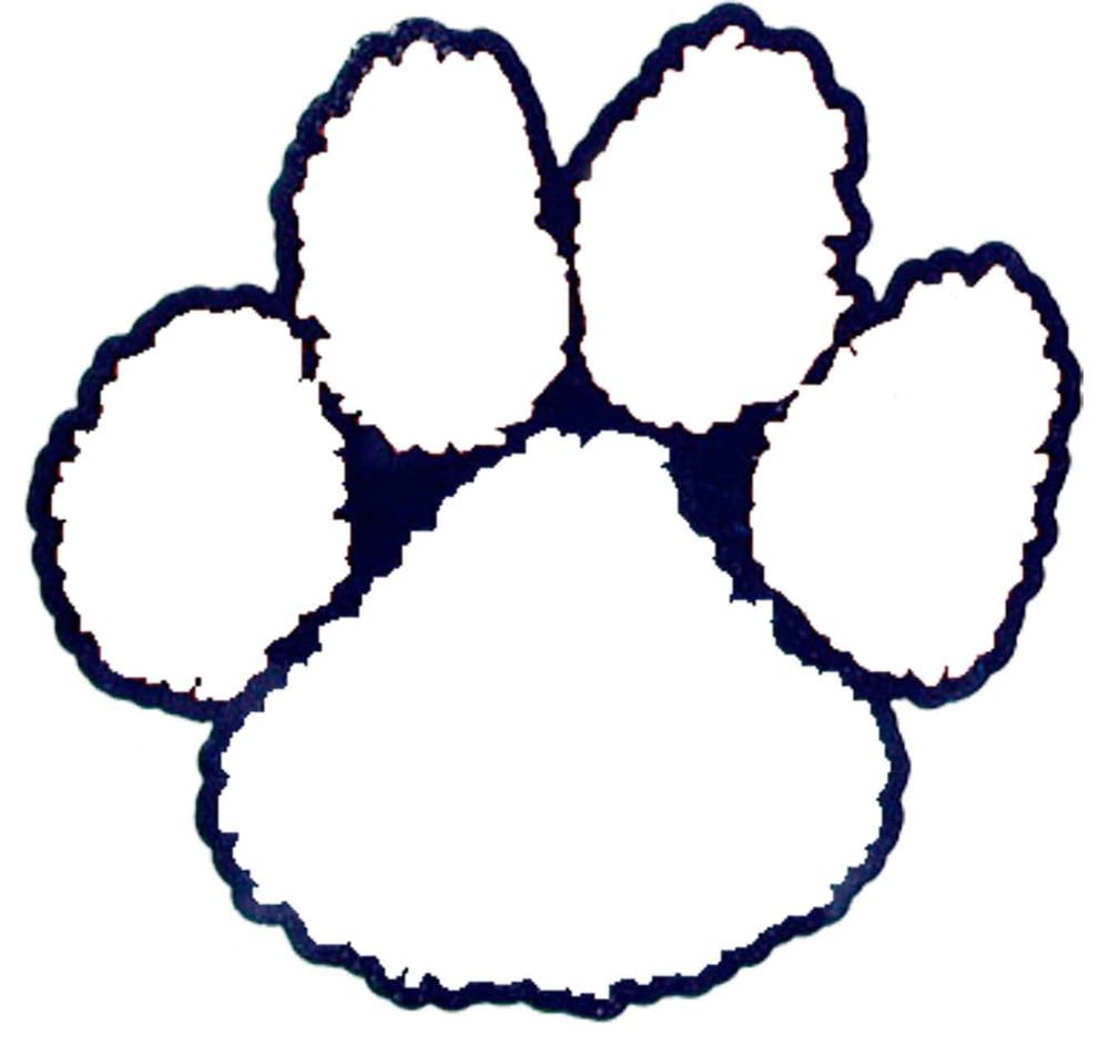 tigerpaw clipart outline Yahoo Image Search Results in