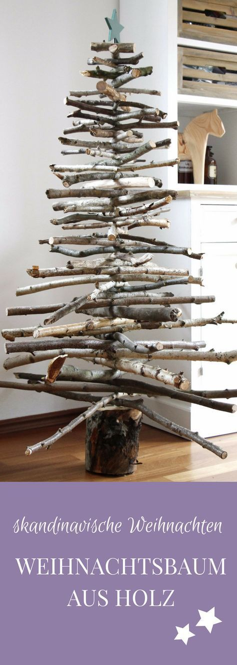 Photo of Christmas DIY idea: build a Christmas tree out of wood – lavender blog