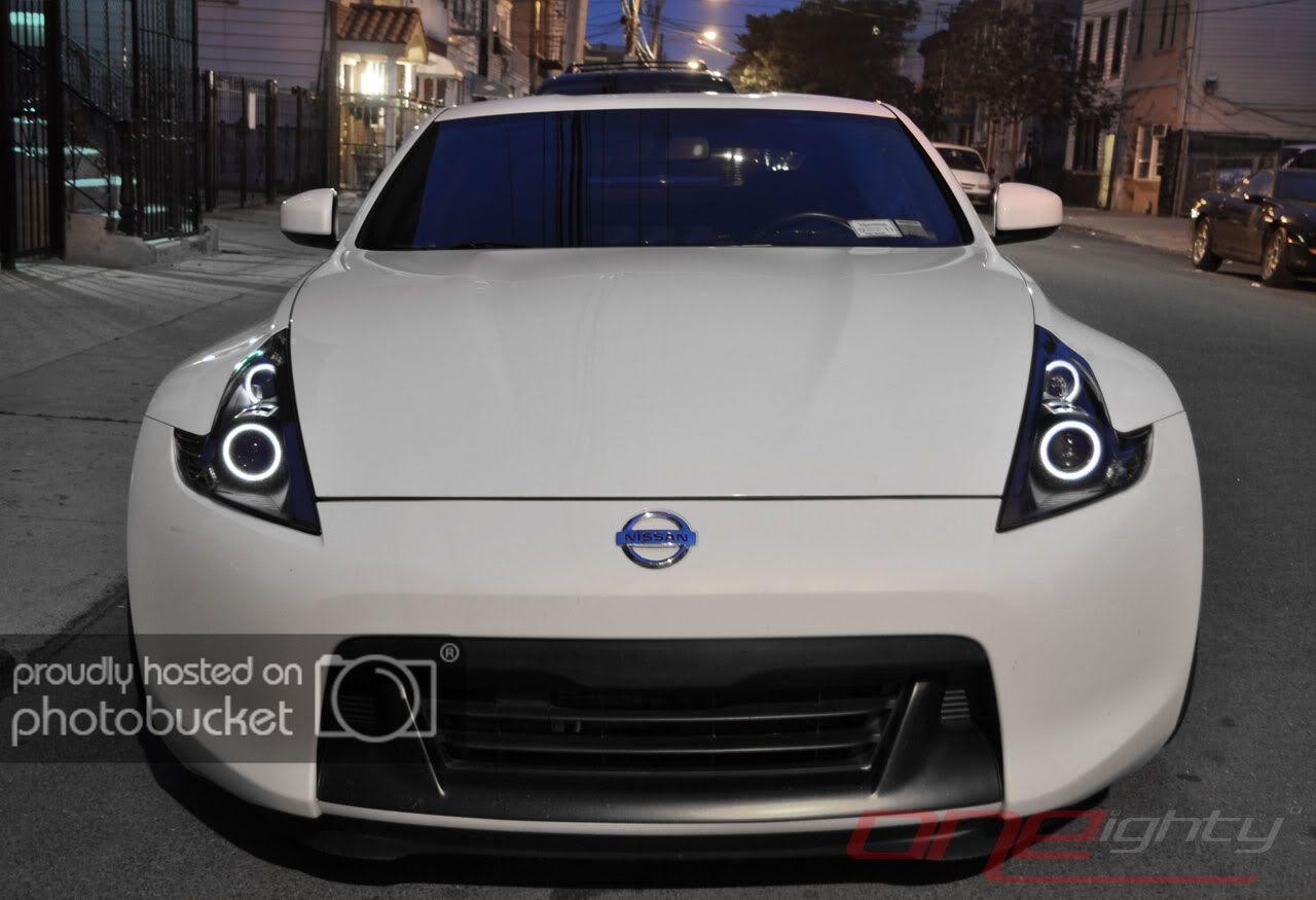 Custom Headlight Paint Lighting Modifications Photos Details Updated Summer 2011 Nissan 370z Forum Custom Headlights Nissan 370z Headlights