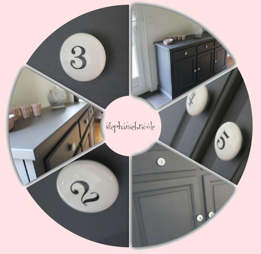 d co bricolage bahut en pin r cup 39 et repeint custom meubles repeindre meuble mobilier. Black Bedroom Furniture Sets. Home Design Ideas