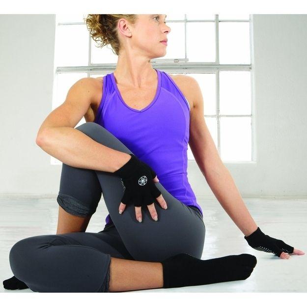 Wear Yoga Gloves And Yoga Socks For Communal Mats.