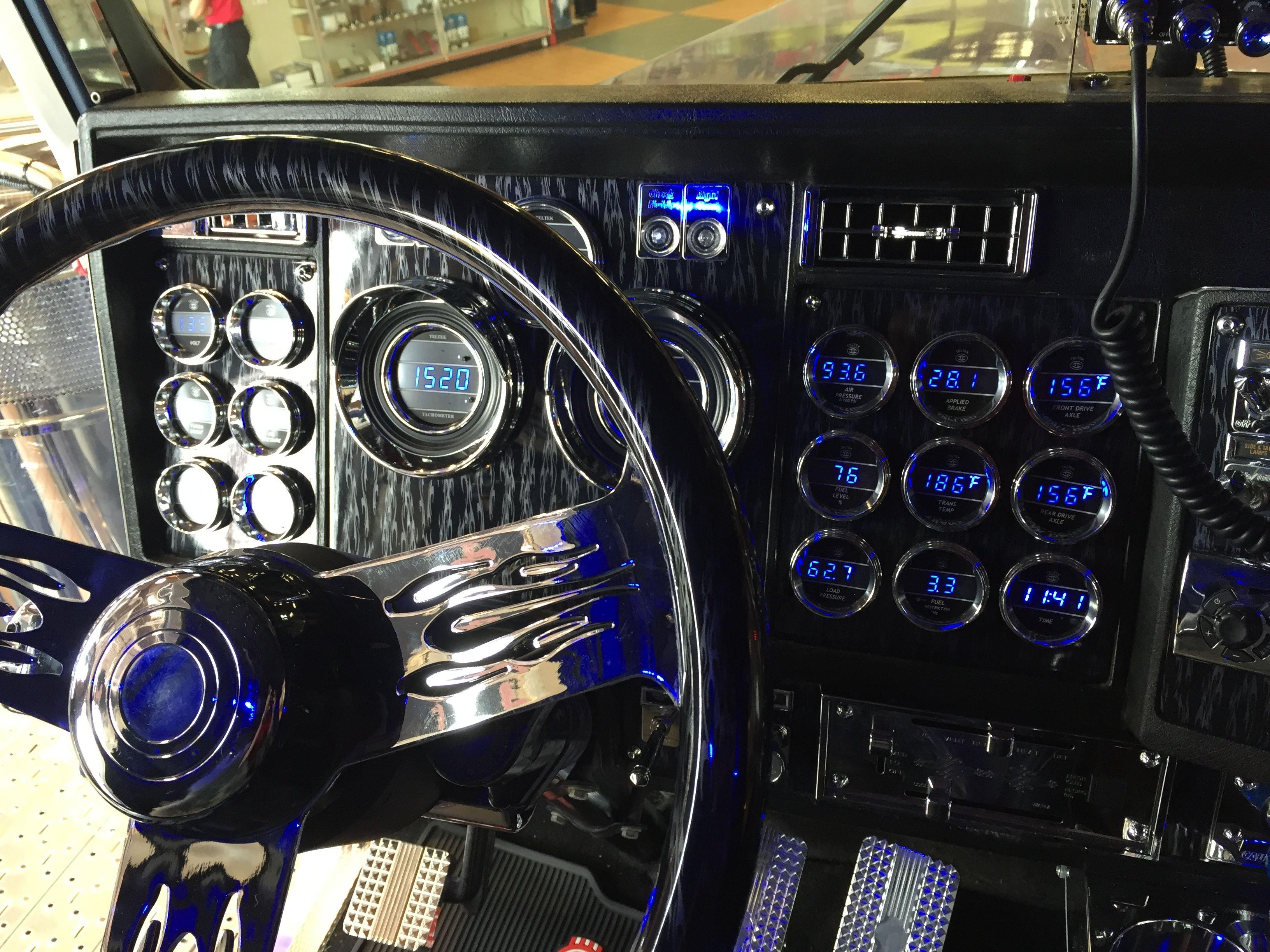 """Blue Ox"" Dashboard Truck interior, Stainless steel"