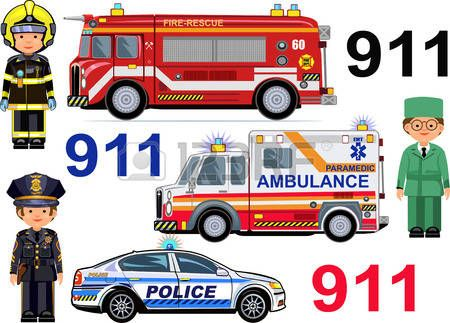 55664796-rescue-vehicles-fire-engine-ambulance-police-cars--paramedic-firefighter-police-officer.jpg (450×323)