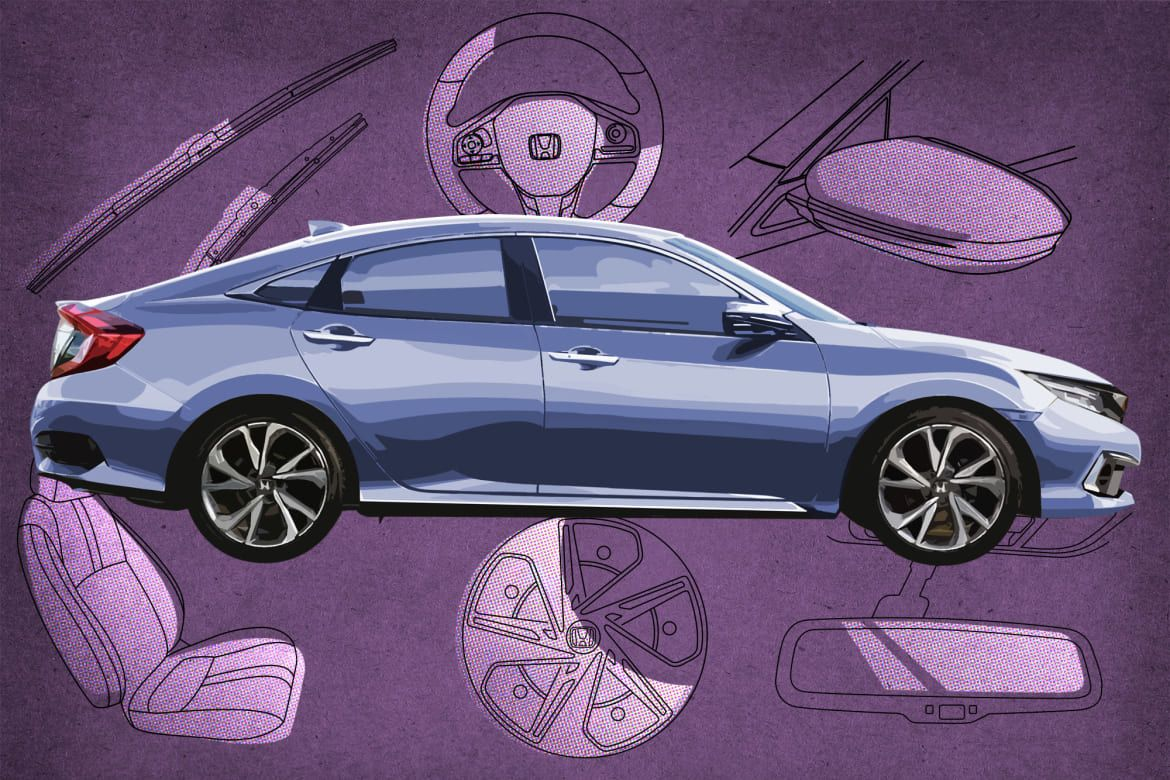 Which 2019 Honda Civic Trim Level Should I Buy LX, Sport
