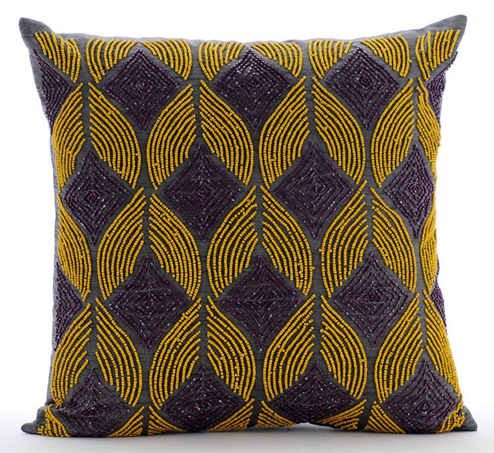 Designer Lattice Trellis Throw Pillow