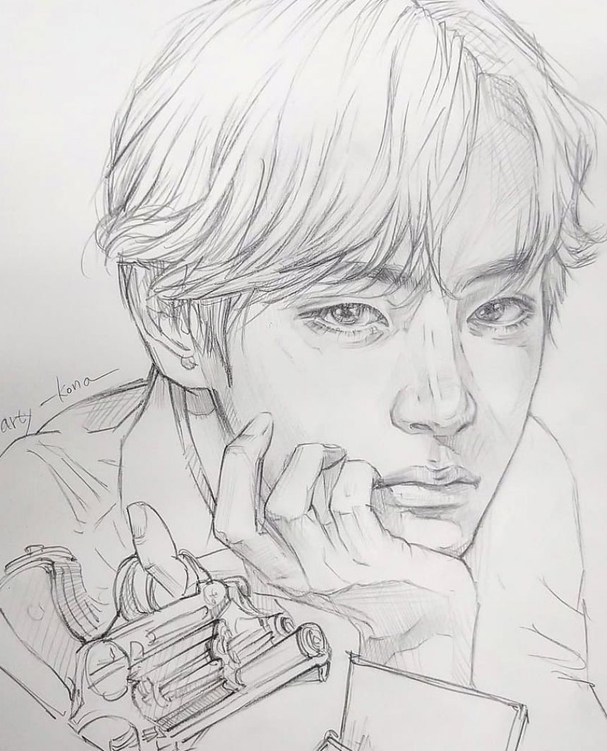 Photo of 20 Easy BTS Drawing Ideas 2020 – Cute KPOP Tutorials for …
