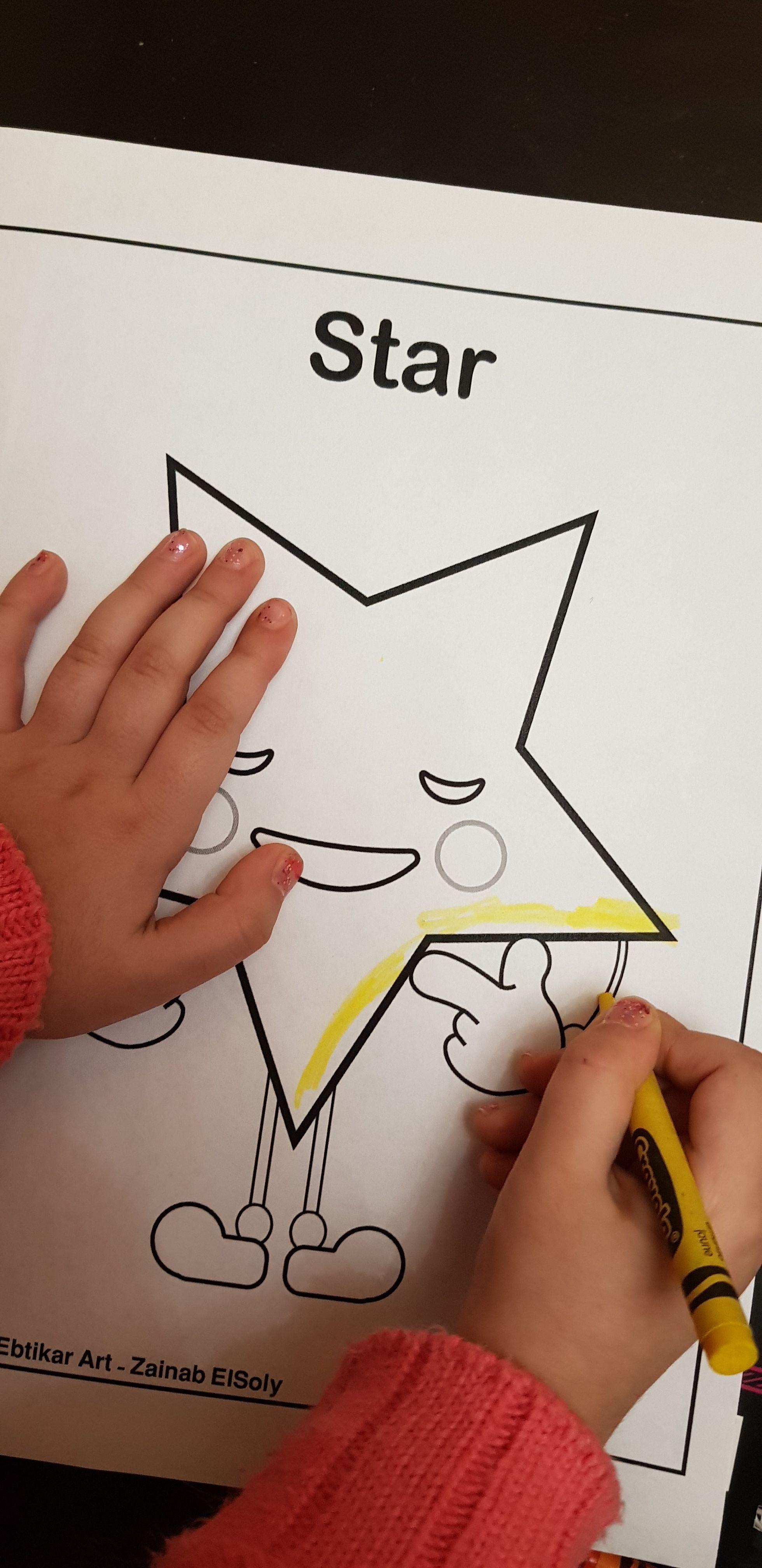Free Printable Preschool Coloring Pages Emoji Shapes Circle