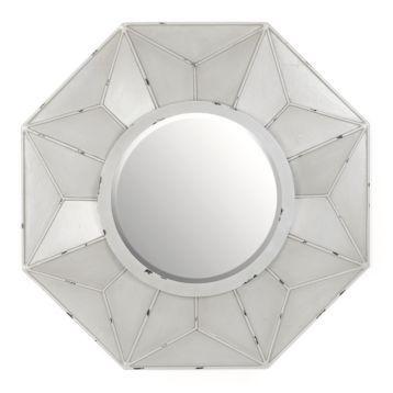 Burlington Gray Wall Mirror 32x32 Grey Wall Mirrors Mirror