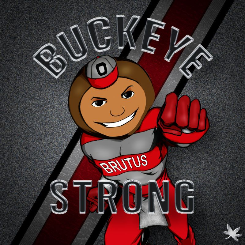 OSU Sign Buckeye Strong 2020-01-G
