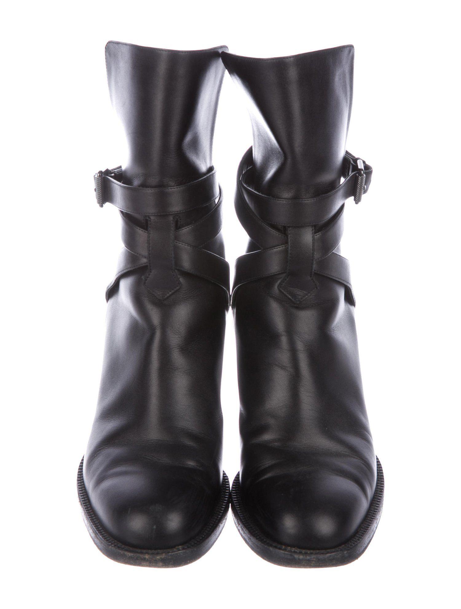 533528f969c Christian Louboutin Karistrap Leather Boots #SPONSORED #Louboutin ...