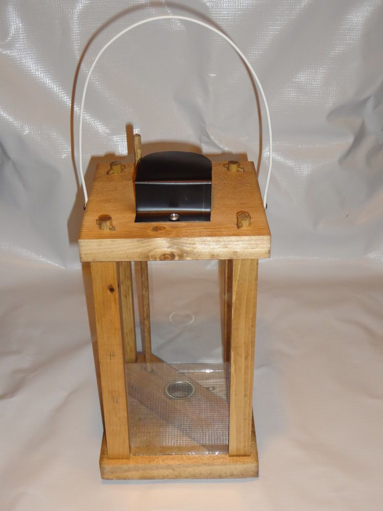 Wood lantern kit candle royal rangers fcf