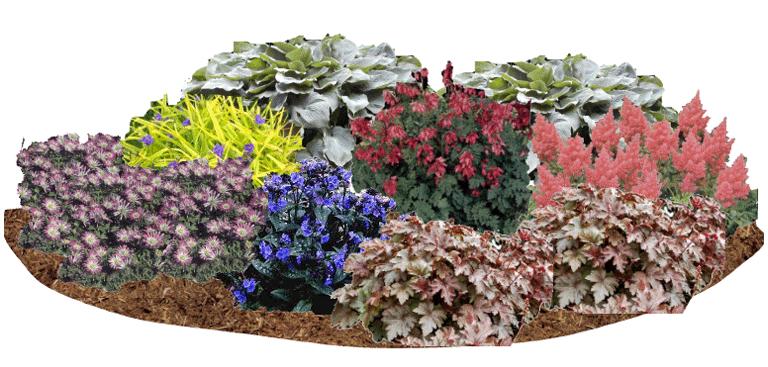 perennial garden ideas bing images - Shade Garden Design Ideas