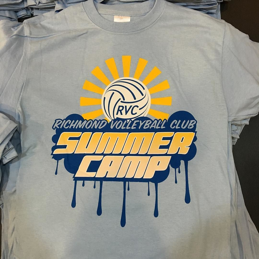 Instagram Photo By Richmond Volleyball Club Jun 20 2016 At 2 36pm Utc Volleyball Shirt Designs Camp Shirt Designs Volleyball Shirts