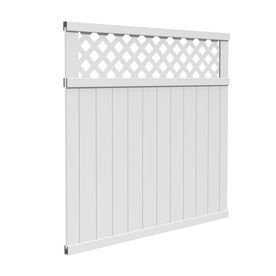 vinyl fence panels lowes. would it be possible to use two of these make gate across driveway into backyard / lowes gatehouse arborley white lattice-top privacy vinyl fence panel panels lowes (