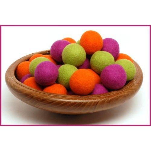 Wool Dryer Balls {set of 3}. Reduces energy costs, all natural, and safe for sensitive skin.