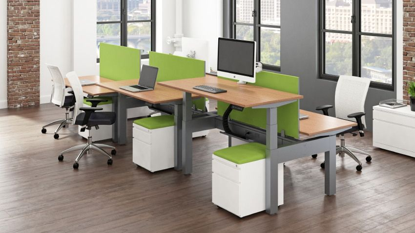 amq solutions activ sit to stand desk heightadjustable desk