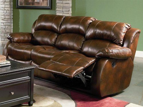 Morrell Reclining Sofa By Coaster Home Furnishings 847 59 Casual Style Pillow Seat Back Suppo Coaster Furniture Couch Coaster Furniture Cheap Leather Sofas