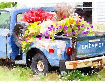 Flowery Truck