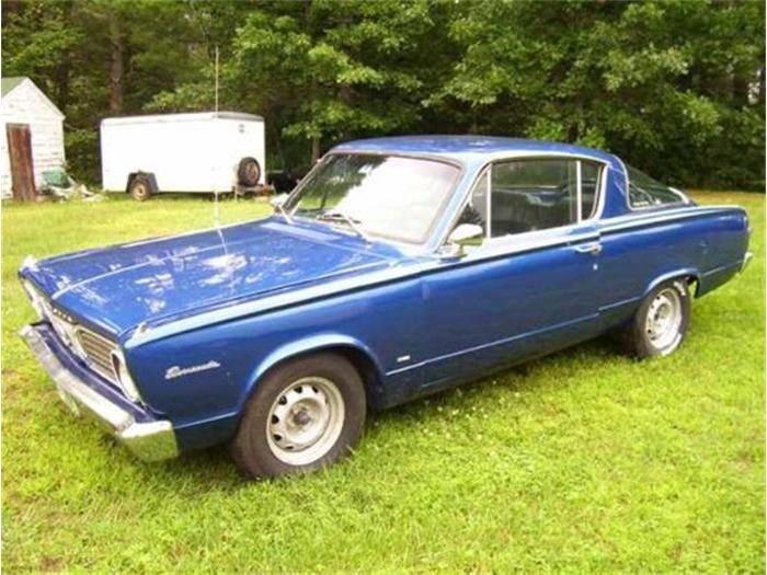 1966 Plymouth Barracuda For 1966 The Barracuda Received New Taillamps New Front Sheet Metal And A New Instrument P Plymouth Barracuda Plymouth Classic Cars