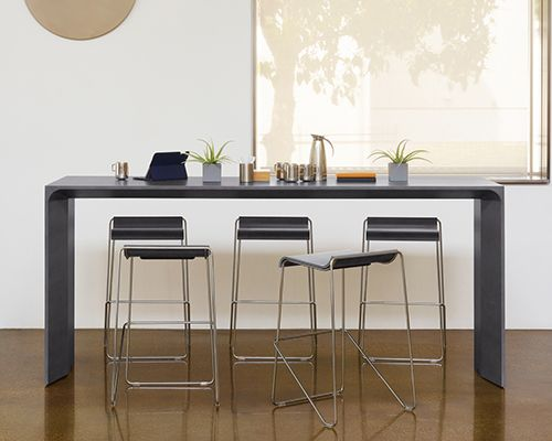 Arcadia Contract Seating And Table Products For Public Spaces - Standing conference room table