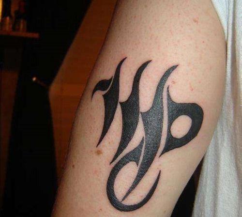 top virgo zodiac sign tattoo ideas 1 all tatted up