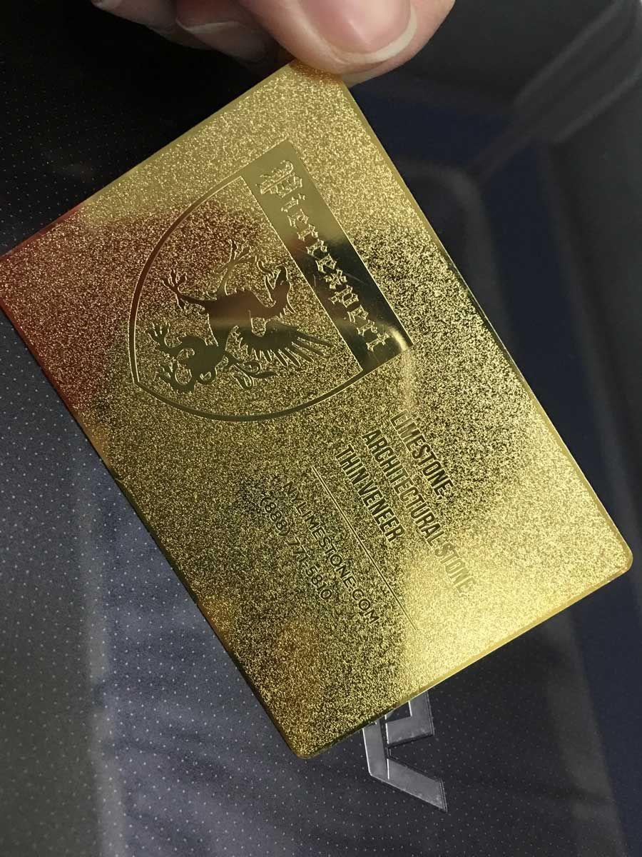 Luxury Gold Metal Business Card Grandeur Rockdesign Luxury Business Card Printing Metal Business Cards Business Cards Creative Luxury Business Cards