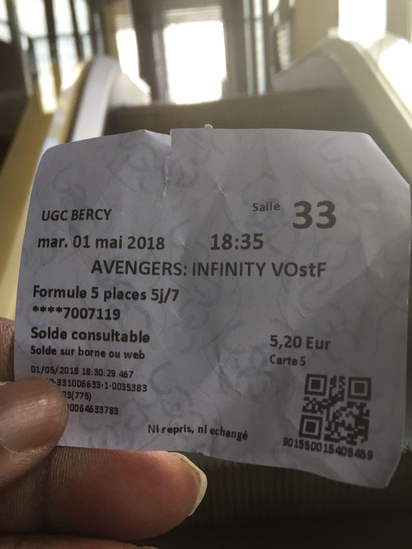 I M At Ugc Cine Cite Bercy Cine